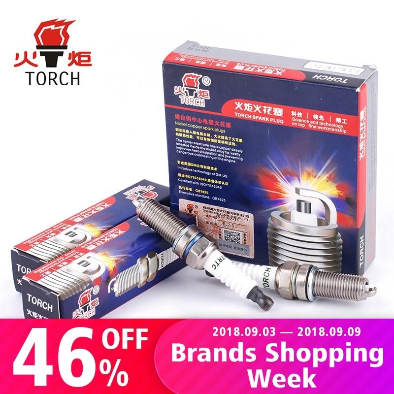 Spark Plugs Pack of 4 BOSCH Super Plus FR7HPP33