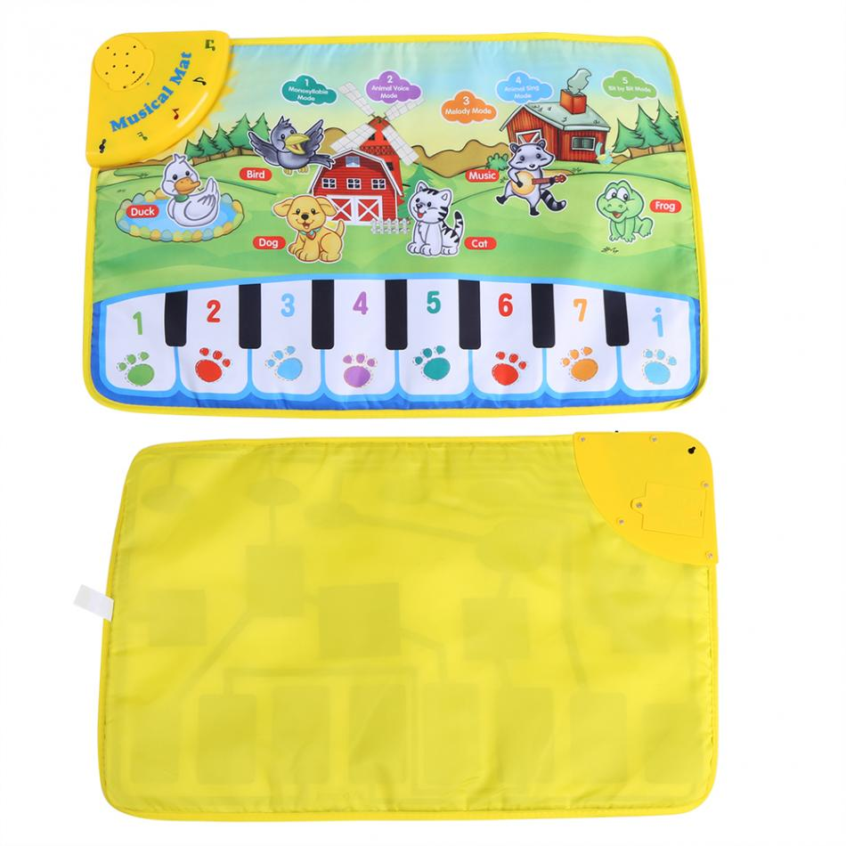 HTB1OLzSeYSYBuNjSspfq6AZCpXaA 60 * 39CM Baby Music Play Carpet Mat Children Kid Crawling Piano Carpet Educational Musical Toy Kids Touch Paly Game Mats Gift