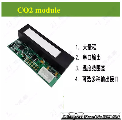 Carbon Dioxide Co2 Gas Sensor Module For Arduino Gas Concentration Detection Module Air Quality