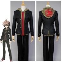 Anime Danganronpa Makoto Naegi Cosplay Costume Full Set Halloween Carnival Costume For Adult Men Women