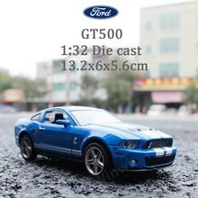 1:32 Die Cast Model Collectors Mustang GT500 Jugetes Para Ninos Car Toys Children