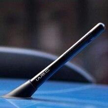 Antenna per autoradio in fibra di carbonio per accessori auto Fiat Panda Bravo Punto Linea Croma 500 595