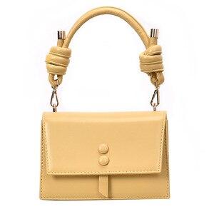 Image 1 - Fransa kadın 2019 moda omuzdan askili çanta çanta kadın küçük askılı çanta Flap marka tasarımcısı Crossbody çanta bayan çanta kesesi