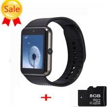 Smart Uhr Mit Sim Einbauschlitz Push-nachricht MP3 Bluetooth GT08 Smartwatch für Android Telefon PK gv18 DZ09 u8 Q18 Tragbare Geräte