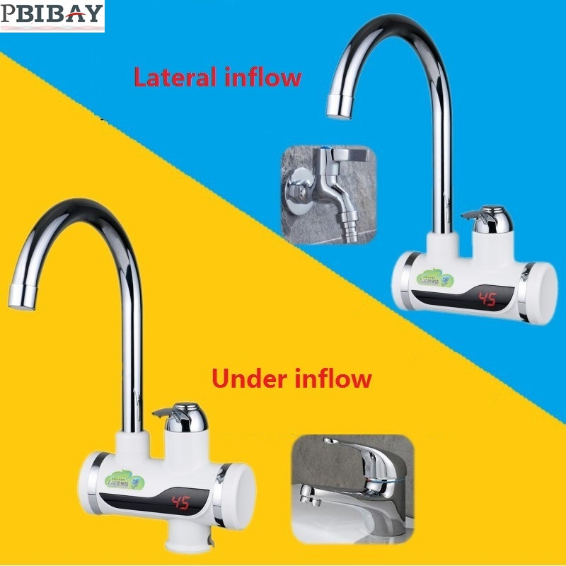 BD3000W-11,free shipping,Digital Display Instant Hot Water Tap,Tankless Electric Faucet,Kitchen Faucet Water Heater
