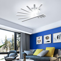 2017 New Style Nordic Living Room Dimmable LED Ceiling Lamp Post Modern Creative Bedroom Coffee Shop