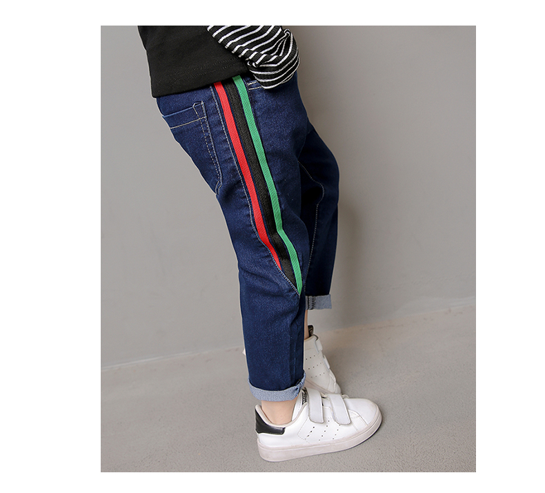 00213c1cfe La ropa de los niños de Primavera de 2019 niños jeans de moda de ...