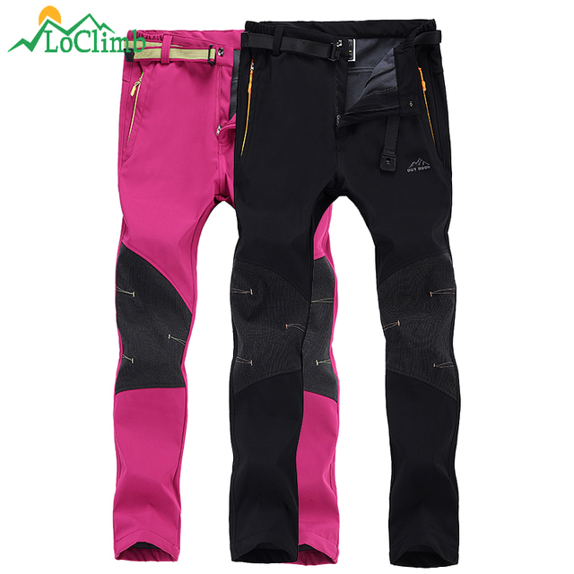 Sport Loclimb Outdoor Donna Impermeabile Pantaloni Uomo Softshell DIW2EH9