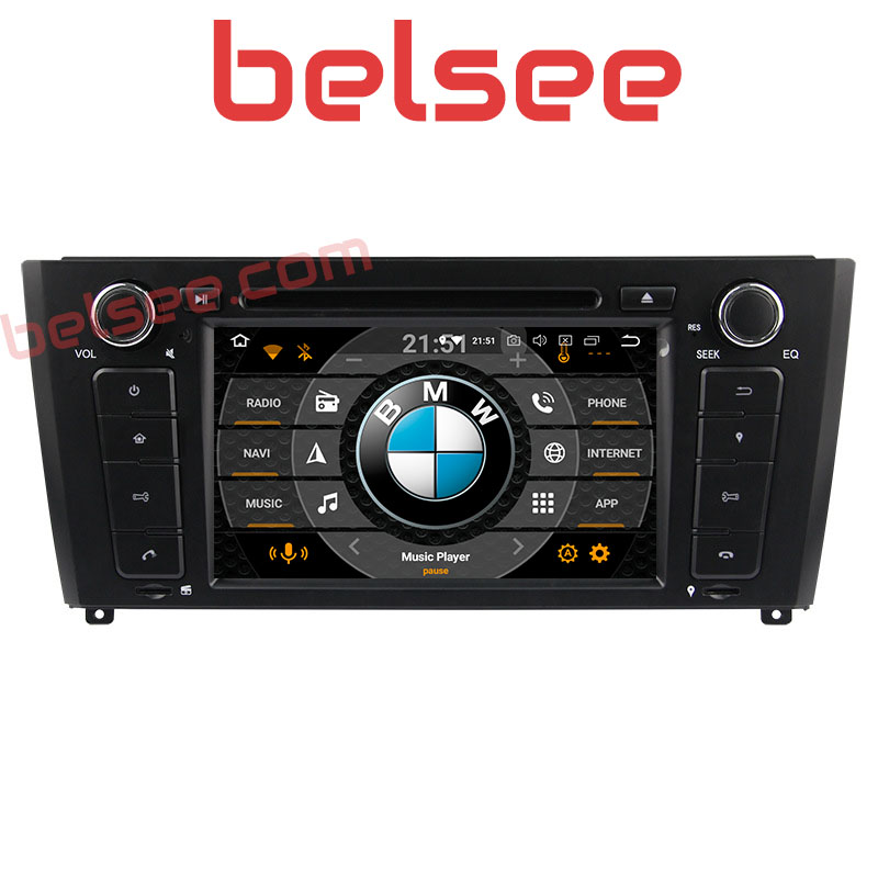 Belsee for <font><b>BMW</b></font> 1 Series E81 E82 <font><b>E87</b></font> E88 2004-2011 <font><b>Android</b></font> <font><b>9.0</b></font> Octa Core Car Radio 4GB Stereo GPS Head Unit Autoradio DVD Player image