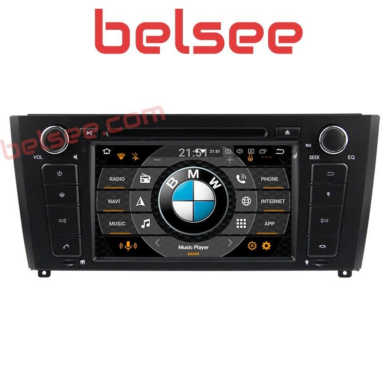 Belsee pour BMW 1 série E81 E82 E87 E88 2004-2011 Android 8.0 Octa Core Autoradio 4 GB stéréo GPS unité de tête Autoradio lecteur DVD