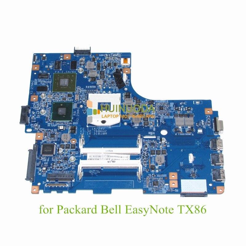 NOKOTION 48.4EH02.01M MBBK801001 MB.BK801.001 For Packard Bell EasyNote TX86 laptop motherboard HM55 GeForce GT330M 31pe2mb0070 motherboard for packard bell easynote mh36 da0pe2mb6c0