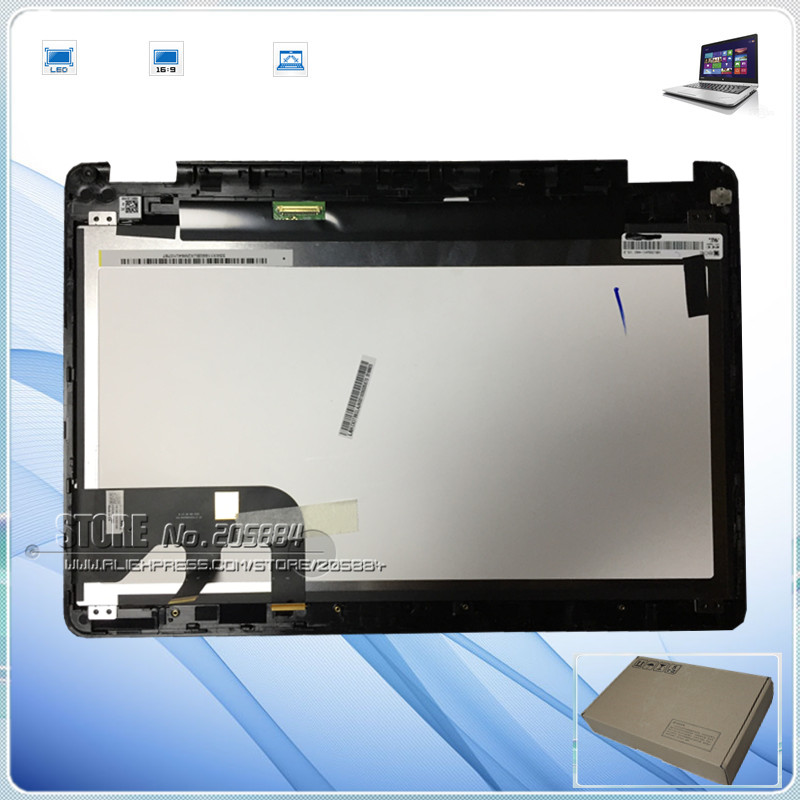 FOR ASUS TP301UA /TP301U TP301UJ TP301UA TP301UA-C4018T TP301UJ laptop LCD touch screen / screen +Touch assembly 13.3 13 3 touch screen digitizer glass replacement bezel for asus transformer book flip tp301 tp301u tp301uj tp301ua tp301ua dw
