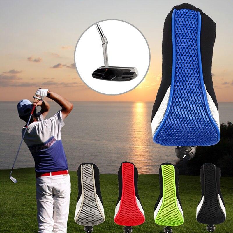Воздухопроницаемая сетчатая головка для гольфа, чехлы для клюшек, Номера для гольф-клуба, защитный идентификационный чехол для головки клюшки для гольфа для спорта на открытом воздухе