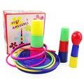 А29 Красочные Шумиха Кольцо Бросить Круг Литье Устанавливает Образовательные Игрушки Головоломки Игры для Детей Подарков VB819 T15 0.5