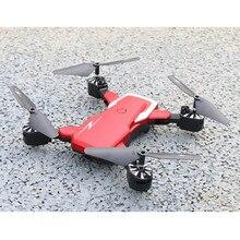 รีโมทคอนโทรลเครื่องบิน 2019 TXD G5 WIFI FPV 480 p กล้อง Optical Flow Headless พับ Quadcopter RC Drone a612