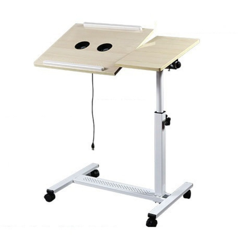 2DG#6953 Life lazy bed notebook comter desk bedside table flat dormitory household mobile lifting and rotating FREE SHIPPING high quality simple notebook computer desk household bed table mobile lifting lazy bedside table office desk free shipping