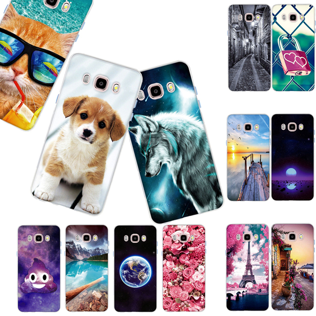 Case For Samsung Galaxy J5 2016 J510 Case Silicone Back Case Cover for Samsung J5 2016 Covers Phone Cover Printed Bags Coque