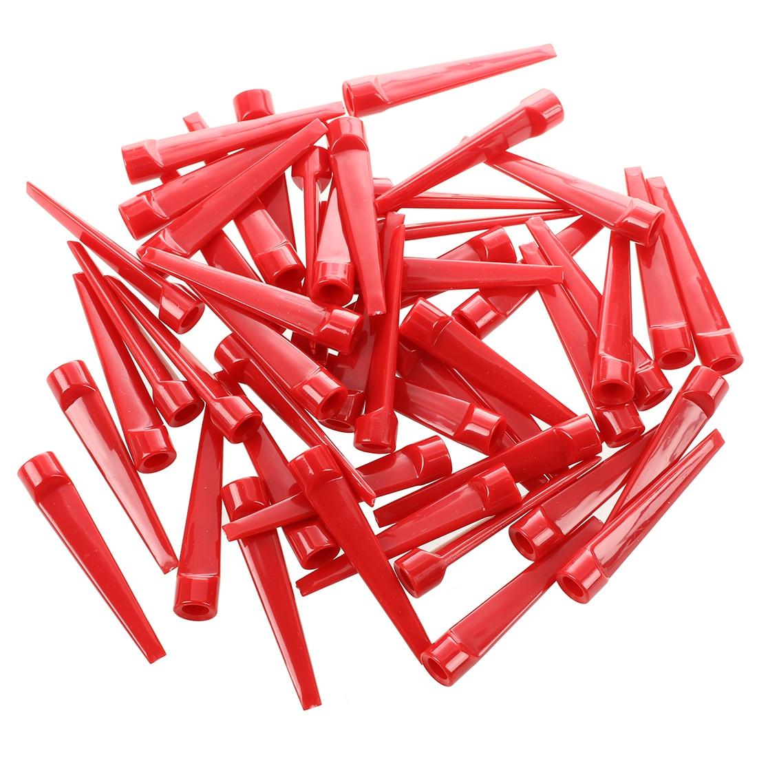 Wholesale! 50pcs Plastic Golf Tee Tees (Red)