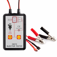 EM276 Pressure Portable Auto Fuel System Diagnostic Car Injector Tester Powerful Universal 4 Pulse Modes Repair Tool LED Display
