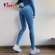 Gym Yoga Pants Sports Wear For Women Tummy Control High Waist Leggins Sport Tights Woman Fitness Seamless Leggings Sportswear недорого