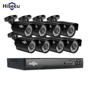 Image 1 - Hiseeu kit de système de vidéosurveillance 8CH AHD 1080P IR