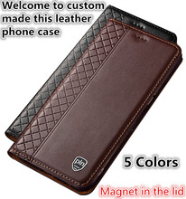 TZ14 Genuine leather phone bag with card holder for Microsoft Lumia 950 XL 5 7 phone