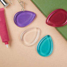 1PC Multi Color Hot 100% Star Hot Blender Silicone Sponge Makeup Puff For Liquid Foundation BB Cream Beauty Essentials