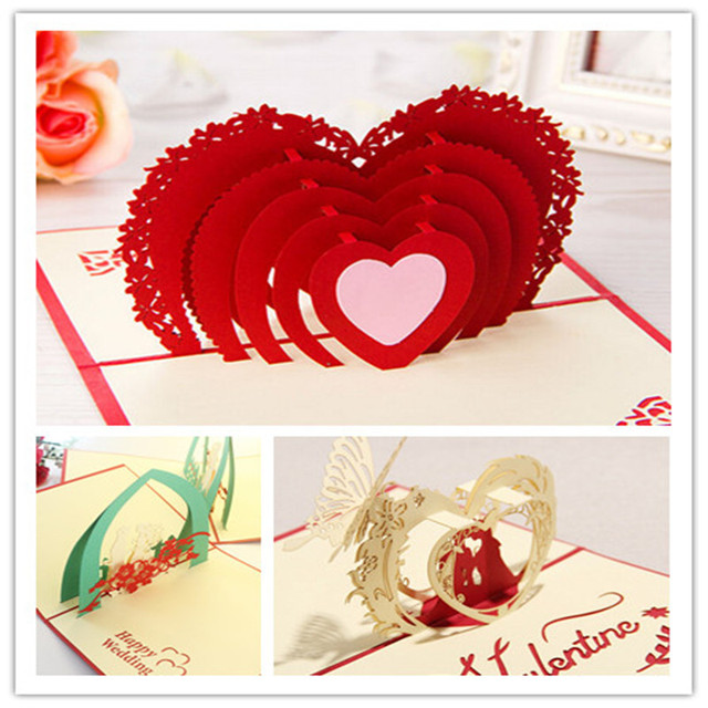 3d luxury handmade valentines day greeting cards 3d stereo handmade 3d luxury handmade valentines day greeting cards 3d stereo handmade pop up christmas wedding birthday invitations m4hsunfo