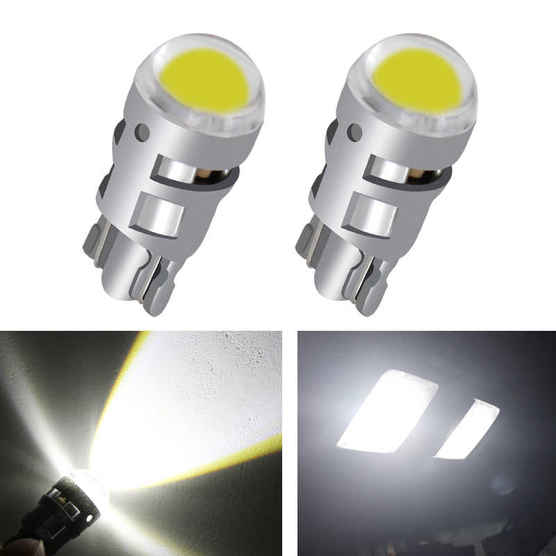 2pcs Signal Lamp T10 Led Car Bulb W5W 194 168 Led T10 Led Lamps For Cars White 5W5 Clearance Backup Reverse Light 12V
