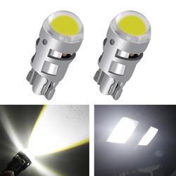 2 шт. сигнальная лампа T10 Светодиодная лампа автомобиля W5W 194 168 Led T10 светодиодные лампы для автомобилей Белый 5W5 просвет резервного