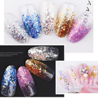 1Pcs Pink Purple Mixed Nail Glitter 3g Hexagon Shape Nail Art Powder Glitters for Art Glitter Powder Dust Sheets Tips