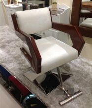 High-grade wood salon chair…
