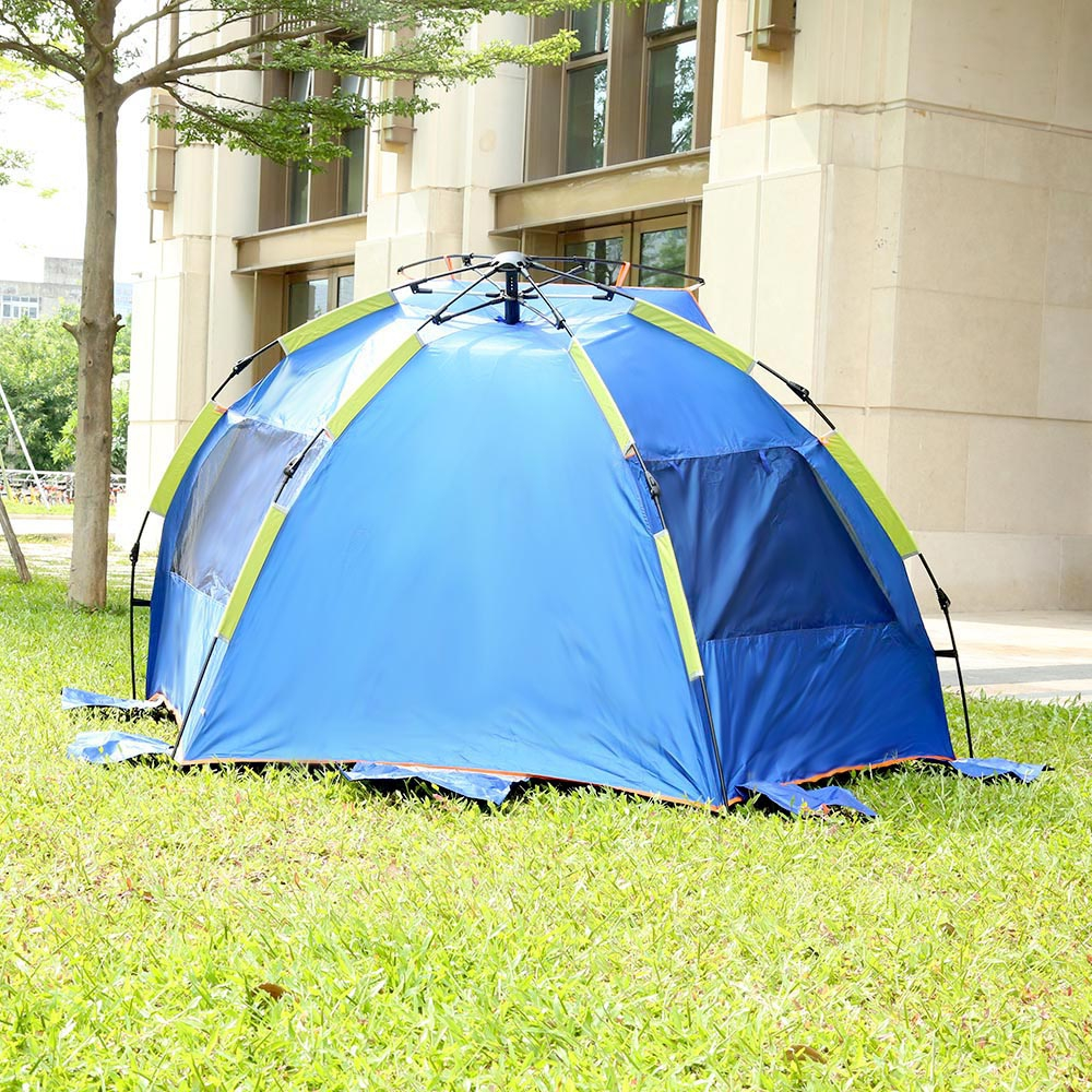a2d0e84b3dec Automatic Instant Setup 3 4 Person Outdoor Beach Fishing Tent Shelter  Summer UV Protecting Sports Sunshade Camping Picnic Tent-in Tents from  Sports ...