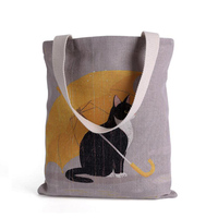2016 Cotton Linen Handbag Eco Daily Female Single Shoulder Shopping Bag Tote Women Beach Bags Reusable