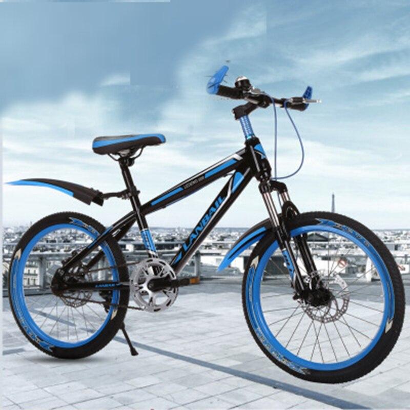 Mountain Bike 20-Inch Shock Absorber Two-Disc Brake Children's Bicycle Road Bike