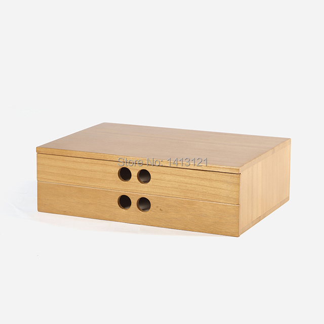 free shipping A4 Wooden desk storage drawer debris cosmetic storage box jewelry retro style office Creative & free shipping A4 Wooden desk storage drawer debris cosmetic storage ...