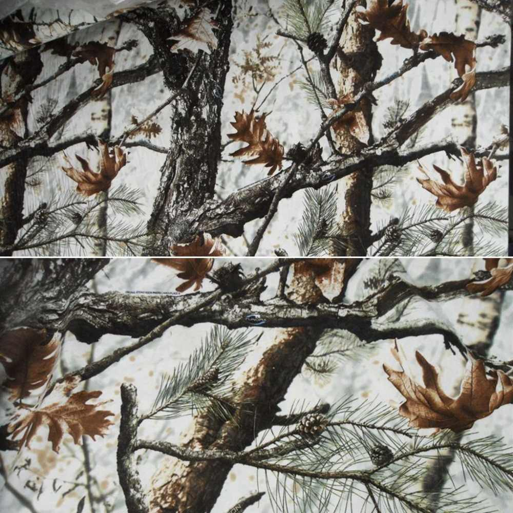 1 5m Width Winter Snow White Camo Fabric Waterproof Camouflage Clothing Outdoor Hunting Hide Cover Blind Aliexpress