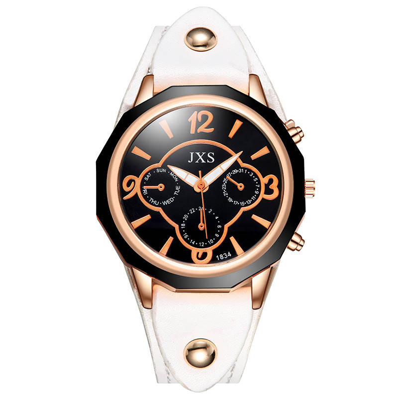 Luxury Men Women Quartz Wristwatch <font><b>Fashion</b></font> <font><b>Unisex</b></font> Genuine <font><b>Leather</b></font> Watch Casual <font><b>Montre</b></font> <font><b>Femme</b></font> High Quality Clock <font><b>Reloj</b></font> <font><b>Mujer</b></font> 2019 image