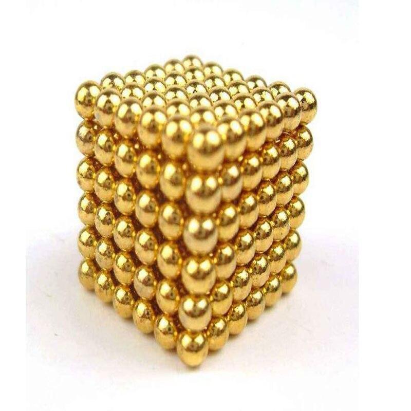 216pcs 8mm Magic Strong Buck Block balls Creative Neodymium Magnet fidget cube 8mm neodymium magnet sphere steel balls diy puzzle set silver 20 pcs