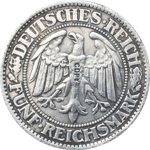 Немецкая монета 1927-1933 разной даты, копии 36 монет