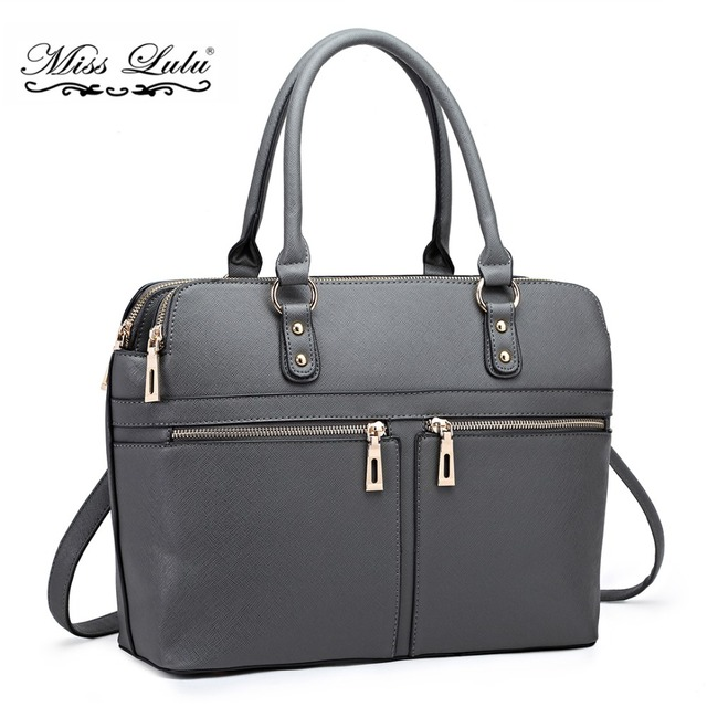7be0d2210e7 Miss Lulu Women Designer Handbags Laptop Shoulder Bags Girls Cross Body  Messenger Satchel Bags Ladies Fashion Tote LT1706