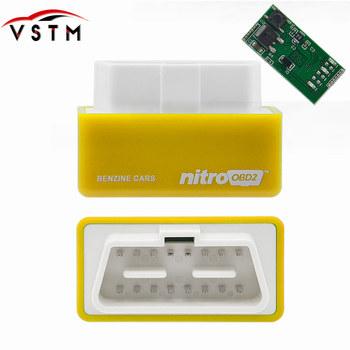 NitroOBD2 z przycisk Reset Power Prog dla samochód z napędem Diesel skrzynka do tuningu elektronicznego ECOOBD2 wtyczka zasilania Power Prog i napęd Nitro OBD2 większa moc tanie i dobre opinie Czytniki kodów i skanowania narzędzia newest english VSTM Chip Tunning Box superior 2 years china best and timely within 24 hours