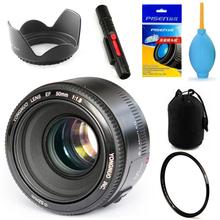 In Stock! YONGNUO YN 50mm F1.8 Lens Large Aperture Auto Focus Lens for Canon Lens Kit