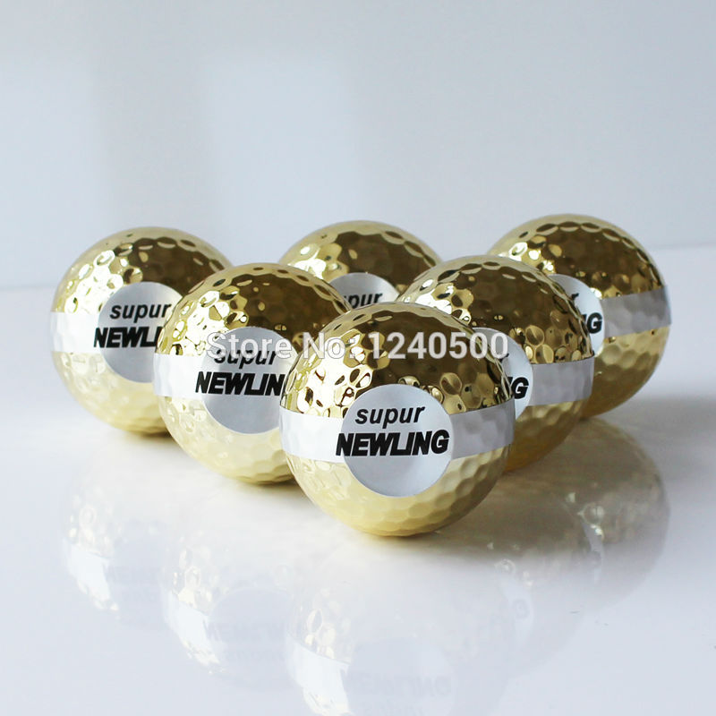 Golf Gift Ball Golf Ribbon ball Golf Opening Ball 3pcs/lot
