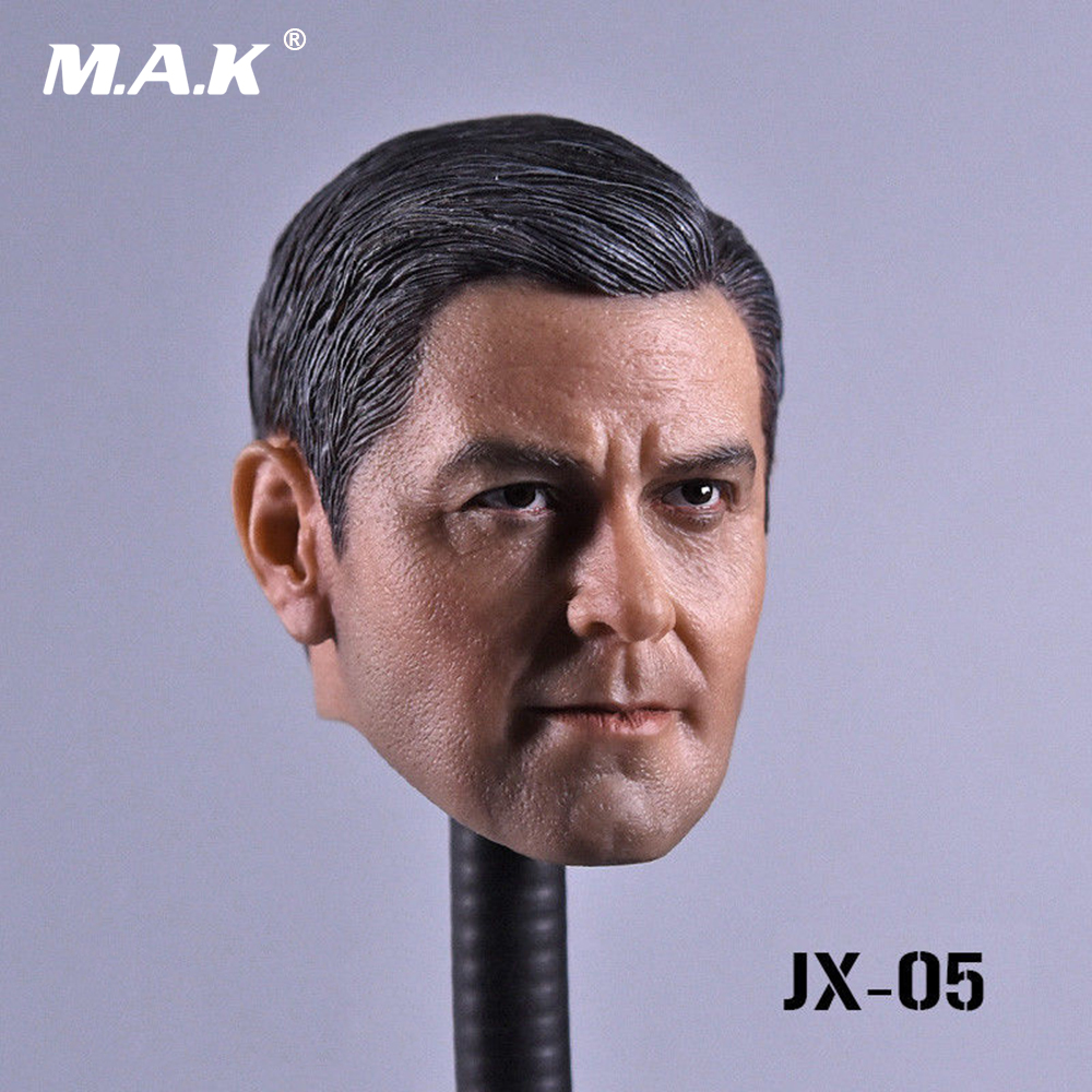 1/6 George Clooney Head Sculpt Carving Models for 12 Male Figure Doll Action Figure 1 6 female head for 12 action figure doll accessories marvel s the avengers agents of s h i e l d maria hill doll head sculpt