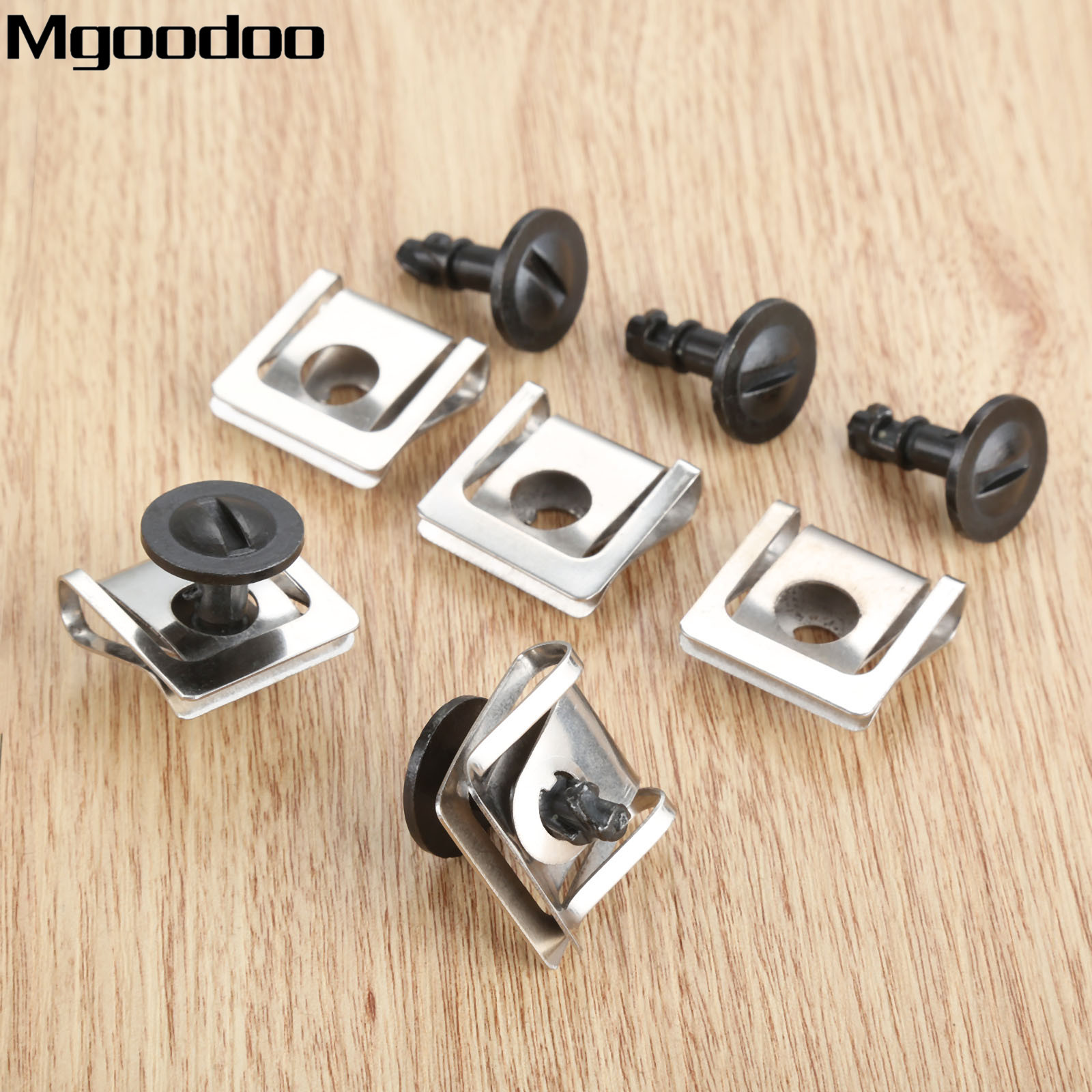 10X UNDER ENGINE COVER CLIPS WHEEL ARCH CLIPS FOR VW AUDI SKODA 4A0805121A
