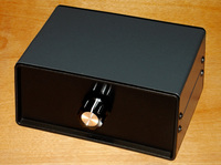 4 Port Input 1 Output Audio Video AV RCA Switch Switcher Selector Box AMP New audio input selector