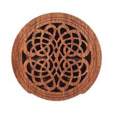 Guitar Wooden Soundhole Sound Hole Cover Block Feedback Buffer Mahogany Wood for EQ Acoustic Folk Guitars цена
