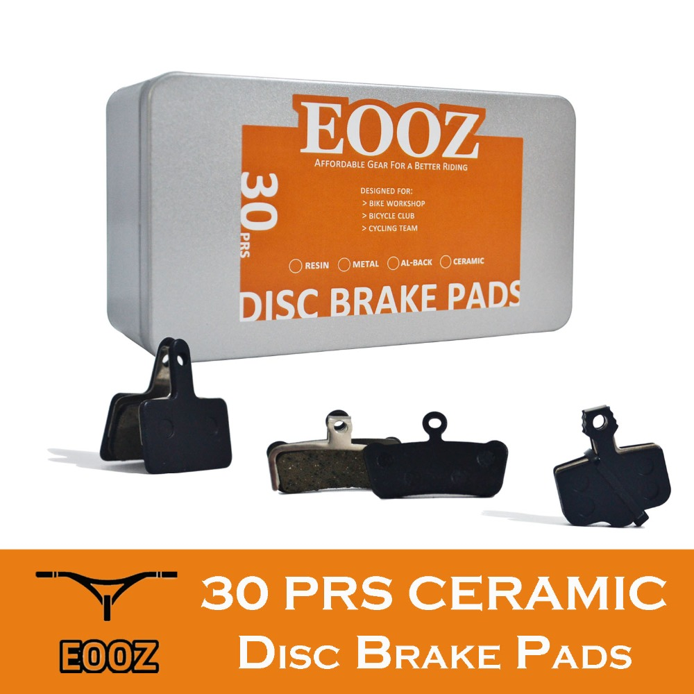 30PRS MTB Bike Bicycle Hydraulic brake pad Ceramics For shimano sram avid magura formula hayes tektro