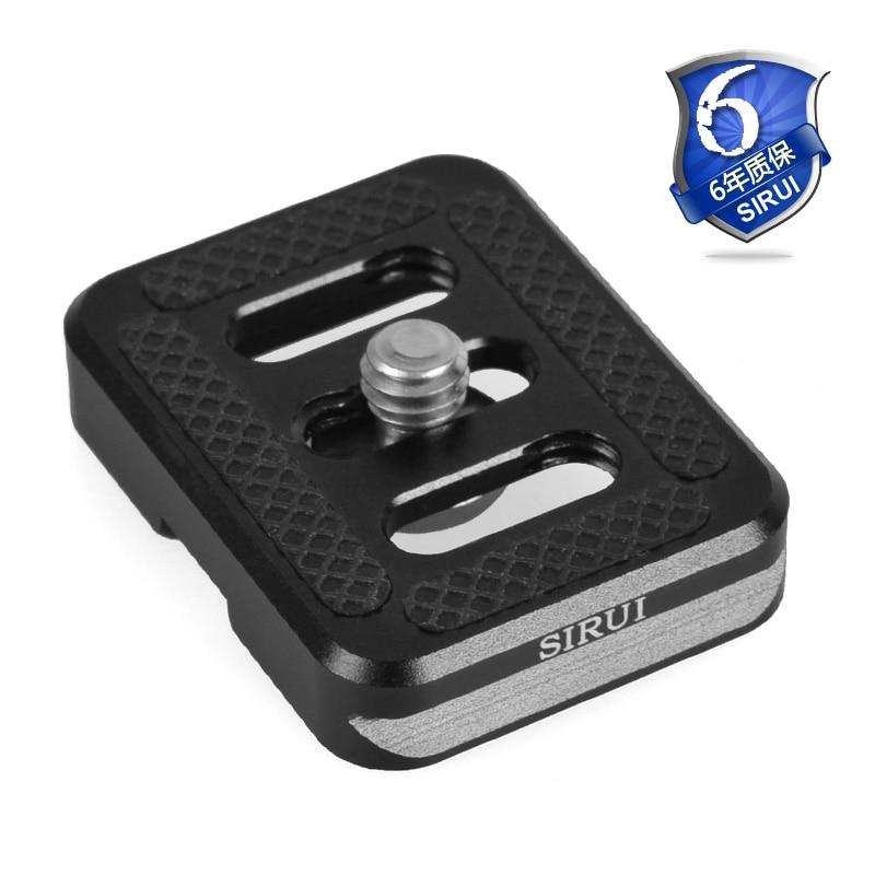 Quick Release Plate Pro Sirui TY-C10 For Ball Head Fluid Head of Tripod Monopod For Digital SLR Camera DSLR QR Plate Aluminum